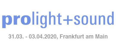 Experience domeprojection.com® ProjectionTools at project: syntropy's booth at Prolight + Sound Frankfurt/Main, March 31st to April 3rd, 2020.